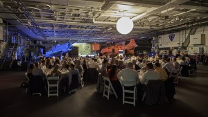 QuEST Forum named the winners of its First Annual Sustainability Awards during the Executive Board dinner and reception on Monday evening during the Americas Best Practices Conference at the USS Midway.